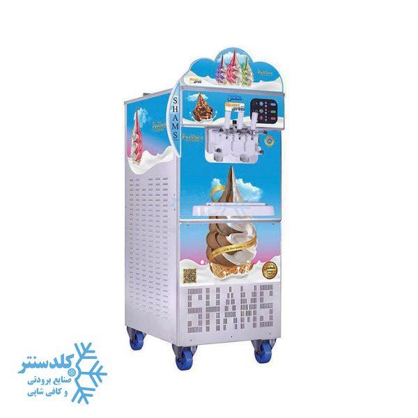 دستگاه بستنی ساز سه فاز سه قیف با اینورتر پرستیژ